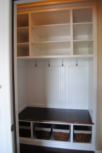 Custom carpentry, cabinets and built-ins